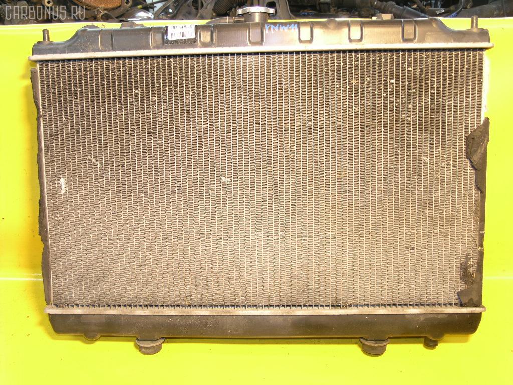 Радиатор ДВС NISSAN AVENIR PNW11 SR20DE. Фото 3