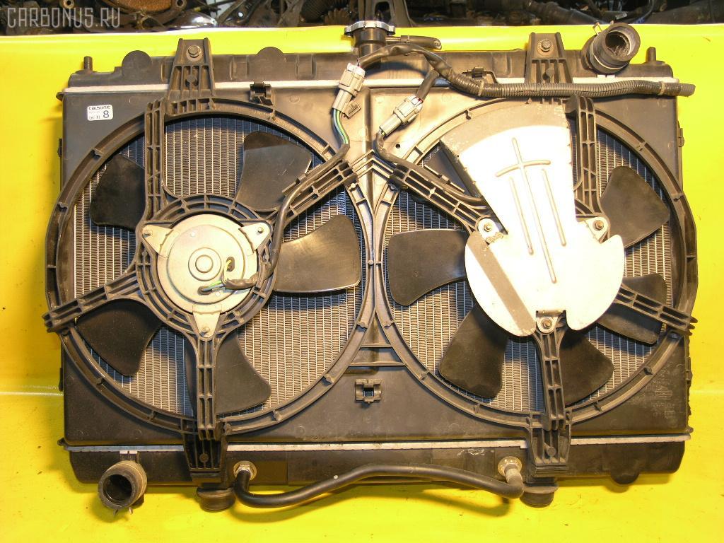Радиатор ДВС NISSAN AVENIR PNW11 SR20DE. Фото 4