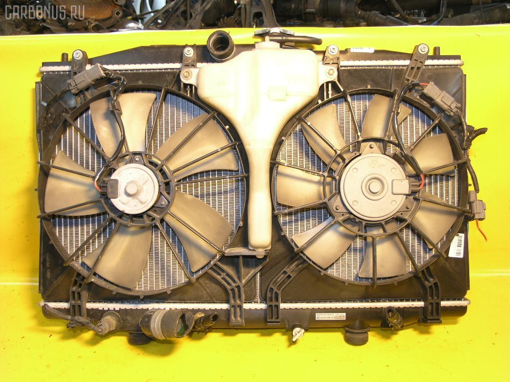 Радиатор ДВС HONDA ACCORD WAGON CM2 K24A. Фото 5