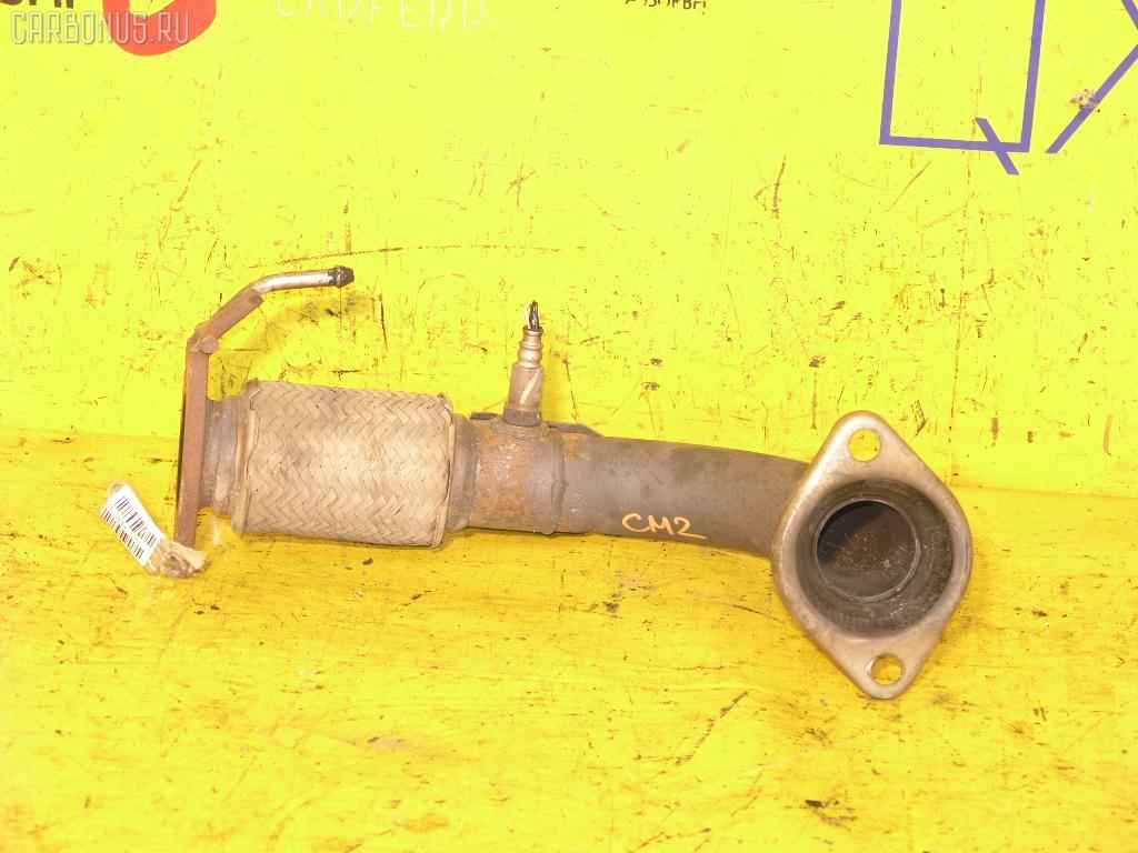 Глушитель HONDA ACCORD WAGON CM2 K24A. Фото 2