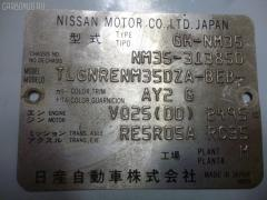 Дверь боковая NISSAN STAGEA NM35 Фото 3