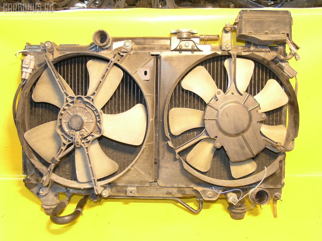 Радиатор ДВС TOYOTA CORONA ST190 4S-FE. Фото 3