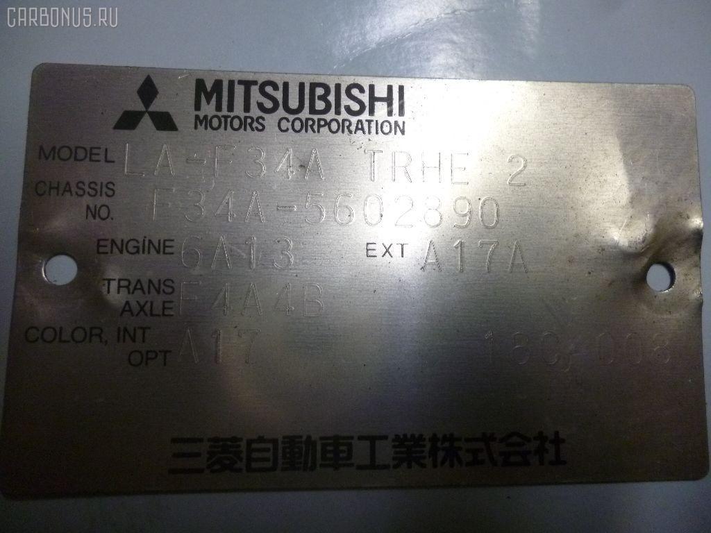 КПП автоматическая MITSUBISHI DIAMANTE F34A 6A13 Фото 6