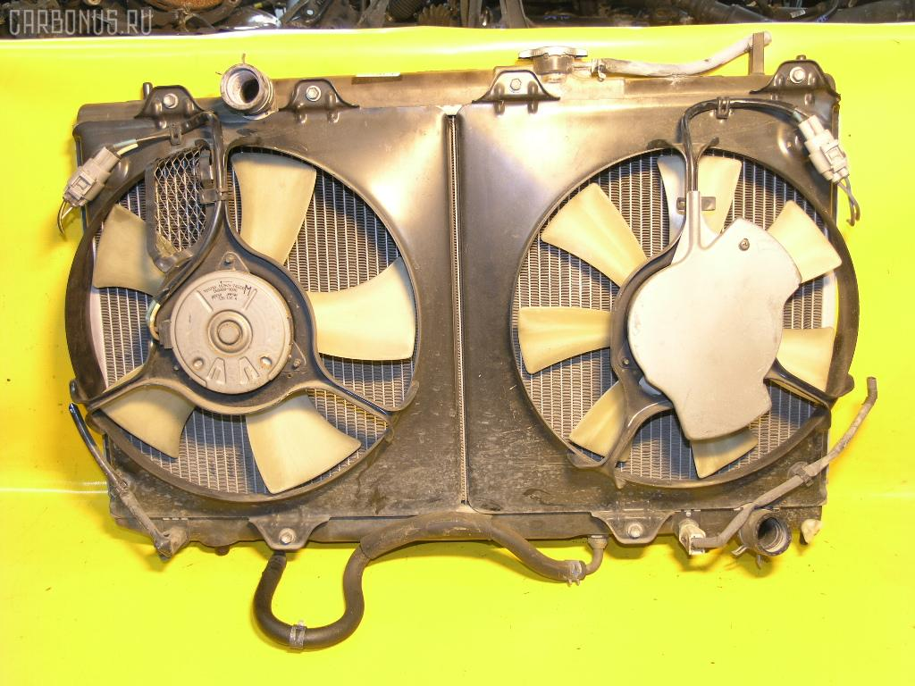 Радиатор ДВС TOYOTA CALDINA ST215W 3S-GTE. Фото 9