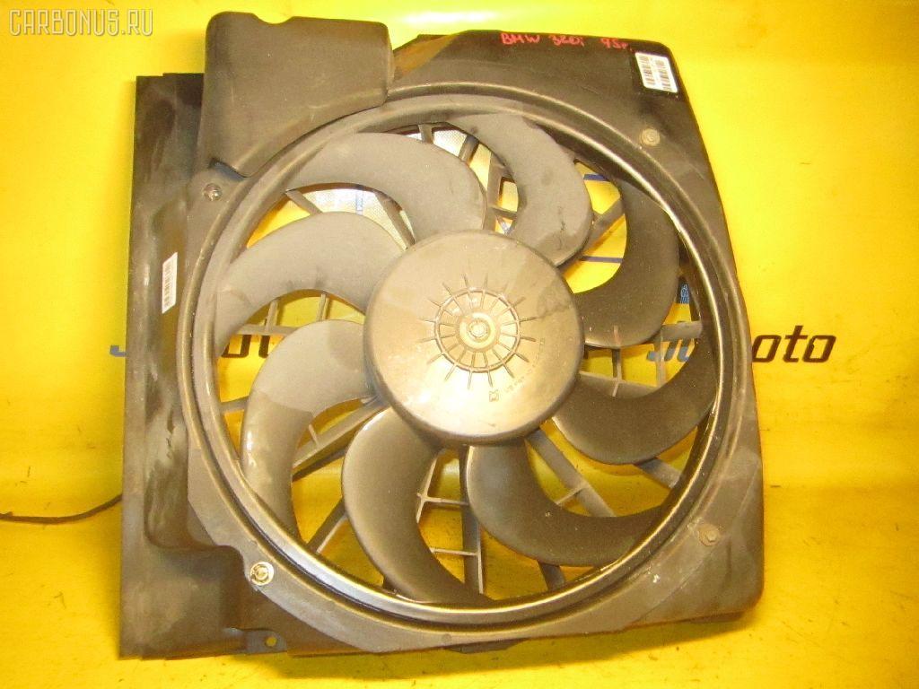 Вентилятор радиатора кондиционера BMW 3-SERIES E36-CB20 M50-206S2. Фото 1