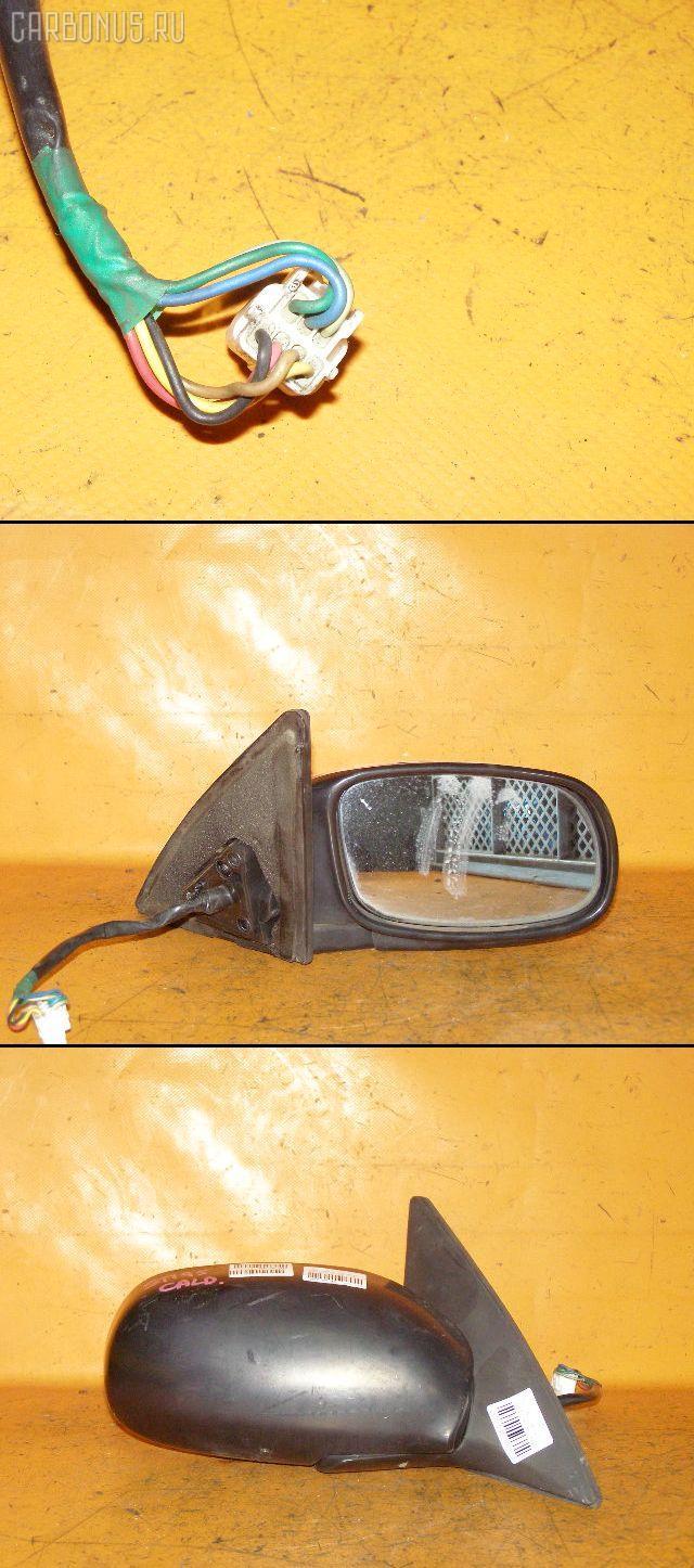 Зеркало двери боковой TOYOTA CALDINA ST195G. Фото 10