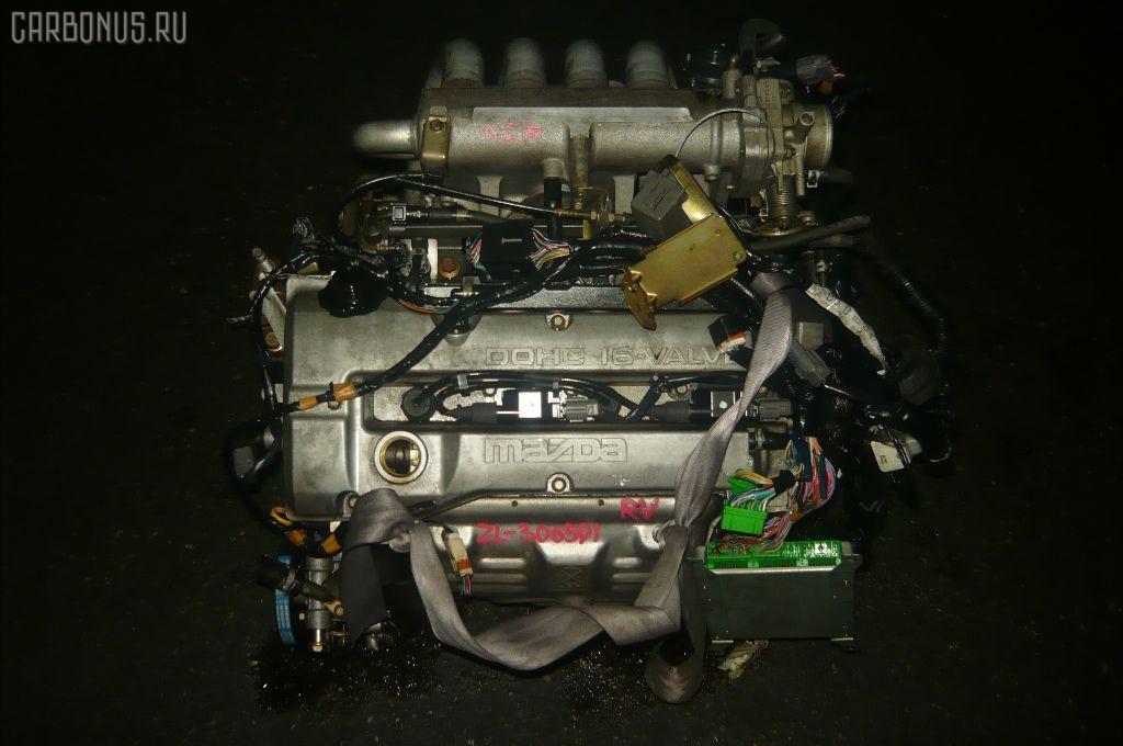 Двигатель MAZDA FAMILIA S-WAGON BJ5W ZL. Фото 7