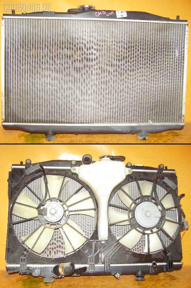 Радиатор ДВС HONDA ACCORD WAGON CM3 K24A. Фото 1