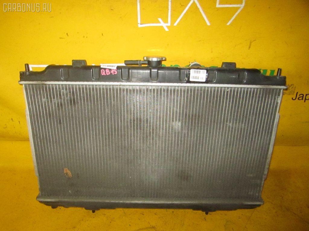 Радиатор ДВС NISSAN SUNNY QB15 QG18DD. Фото 10