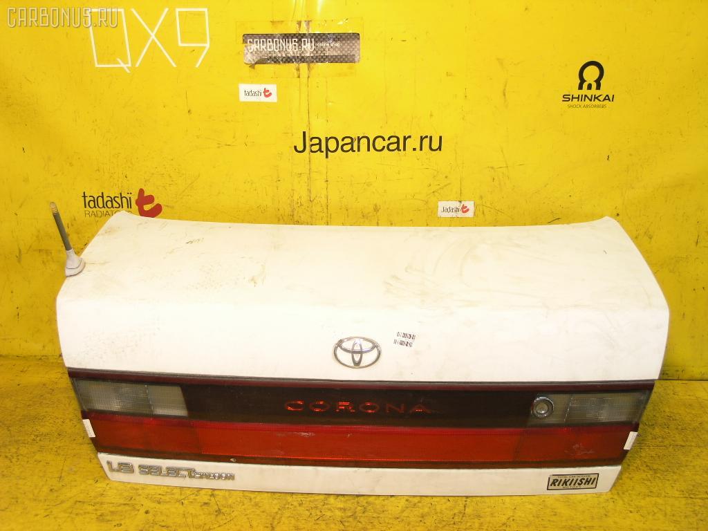 Крышка багажника TOYOTA CORONA ST190. Фото 4