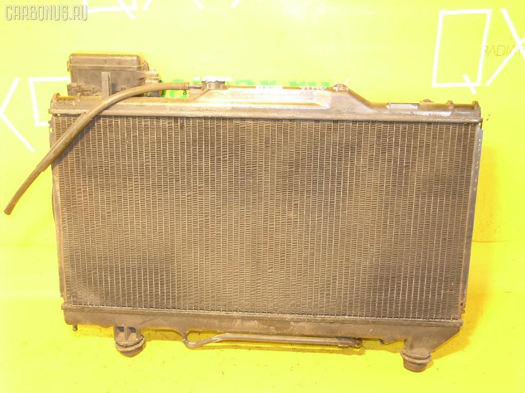 Радиатор ДВС TOYOTA CORONA ST190 4S-FE. Фото 4