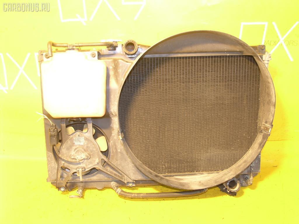 Радиатор ДВС TOYOTA CHASER JZX90 1JZ-GE. Фото 11