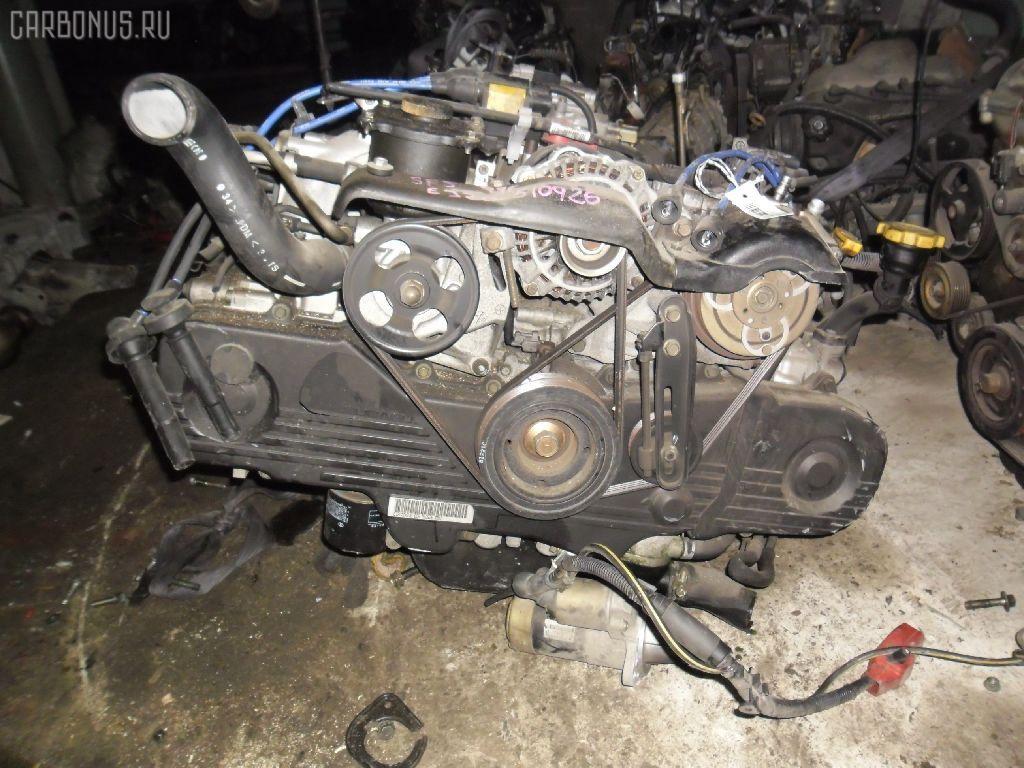 Двигатель SUBARU FORESTER SF5 EJ202. Фото 1