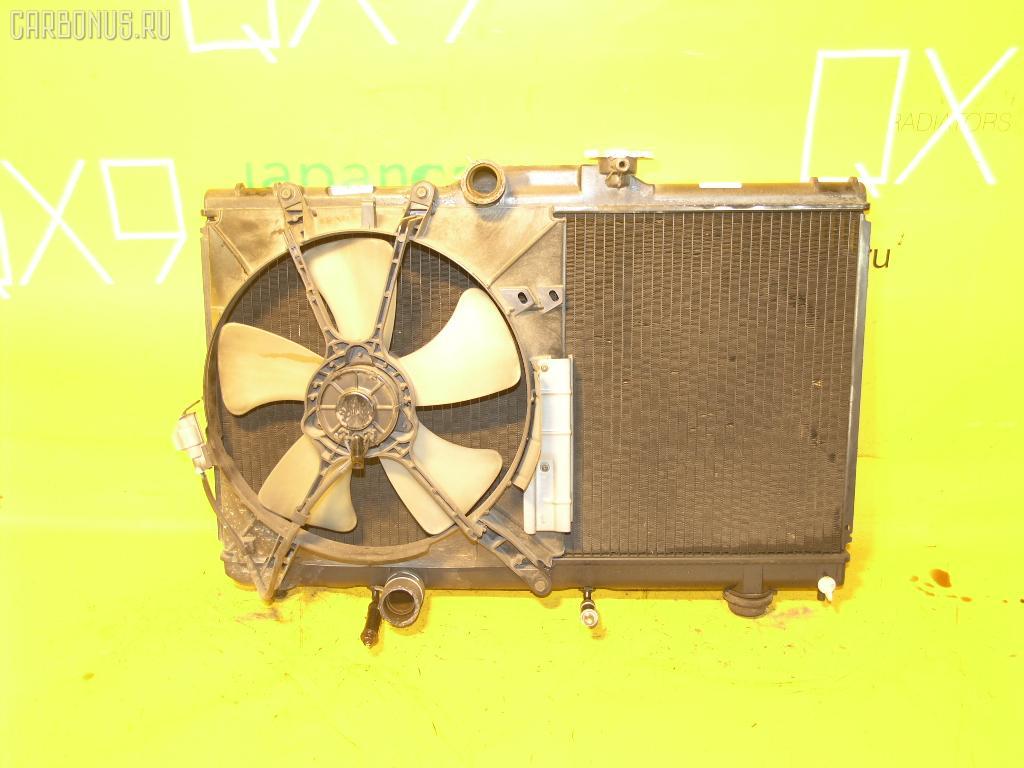 Радиатор ДВС TOYOTA COROLLA CERES AE100 5A-FE. Фото 3