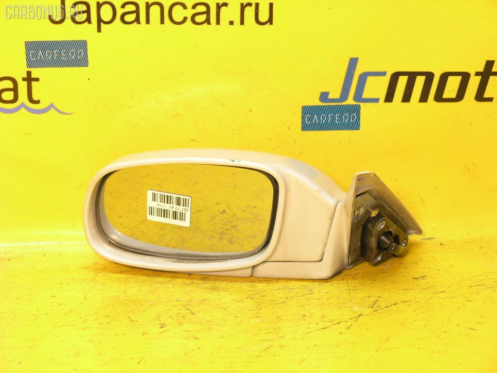 Зеркало двери боковой TOYOTA MARK II JZX90. Фото 5