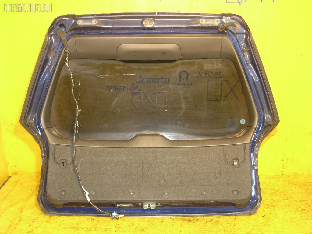 Дверь задняя SUBARU LEGACY WAGON BG5. Фото 3