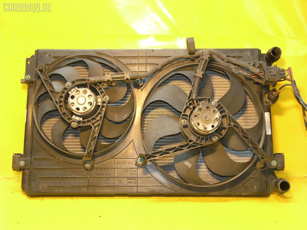 Радиатор ДВС VOLKSWAGEN GOLF IV 1JAPK APK. Фото 4