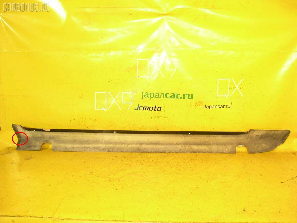 Порог кузова пластиковый ( обвес ) MERCEDES-BENZ E-CLASS W210.055. Фото 5