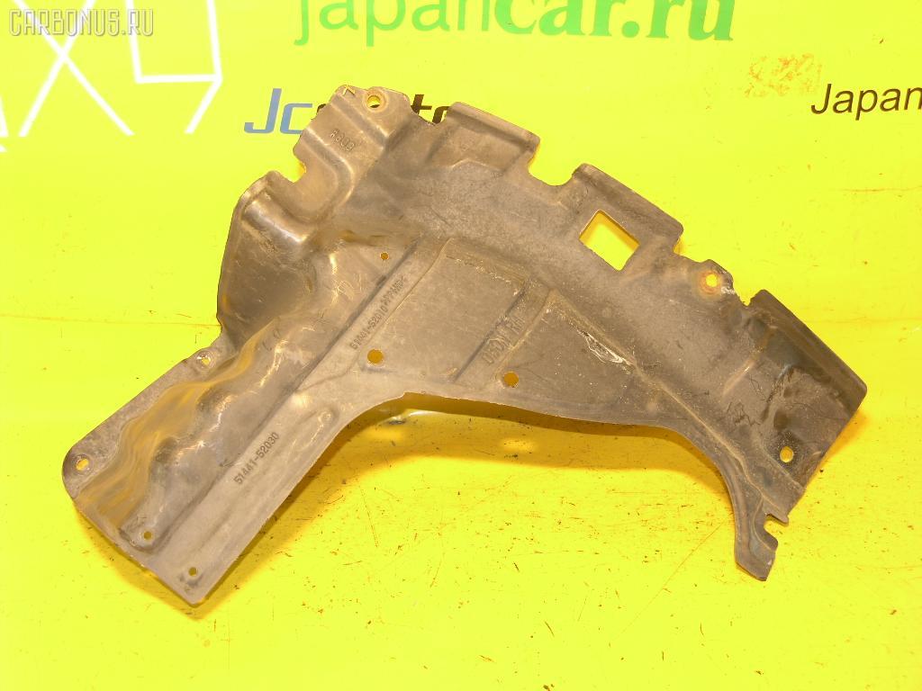 Защита двигателя TOYOTA VITZ SCP13 2SZ-FE. Фото 6