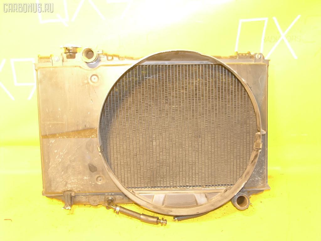 Радиатор ДВС TOYOTA MARK II GX71 1G-EU. Фото 3