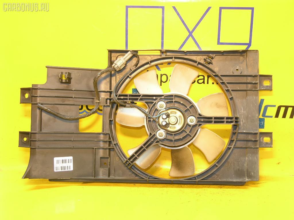 Вентилятор радиатора кондиционера NISSAN CUBE AZ10 CGA3DE. Фото 7