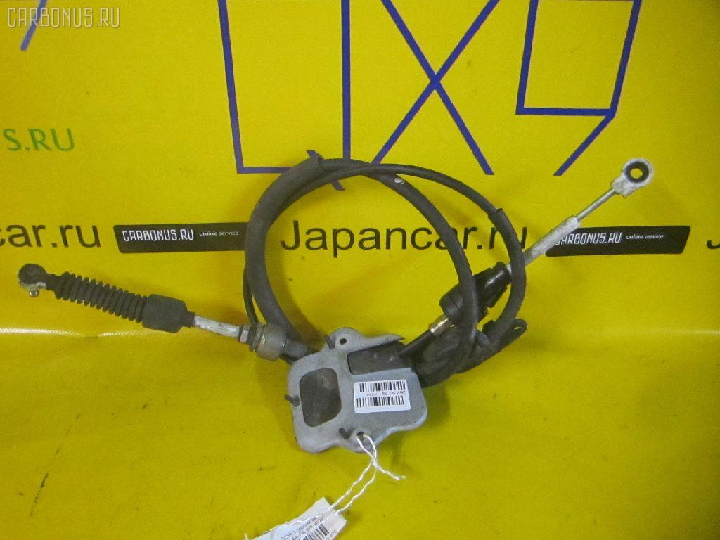 Тросик на коробку передач TOYOTA COROLLA SPACIO AE111N 4A-FE. Фото 4