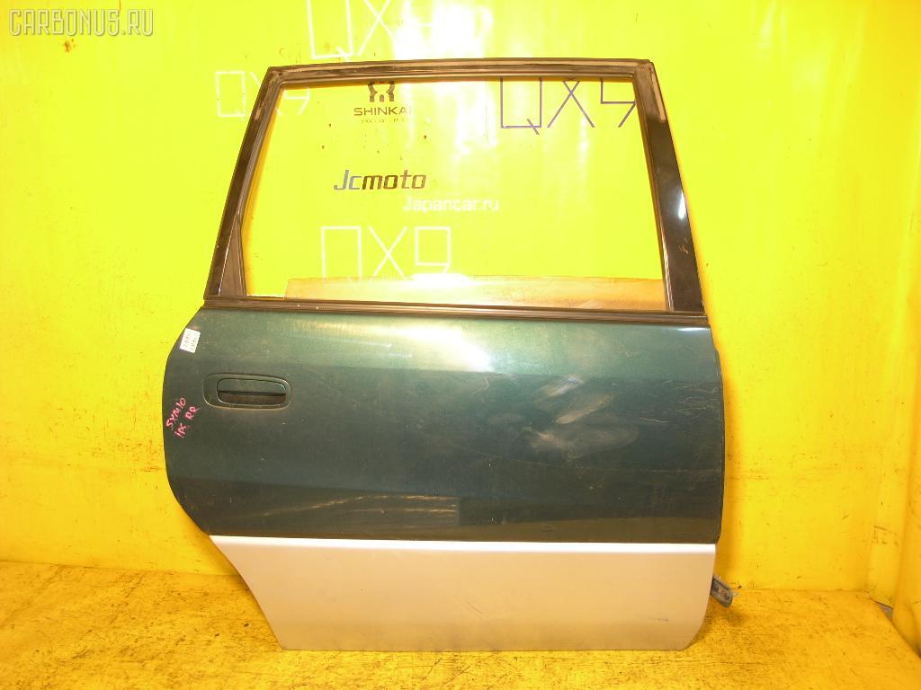 Дверь боковая TOYOTA IPSUM SXM10G. Фото 1