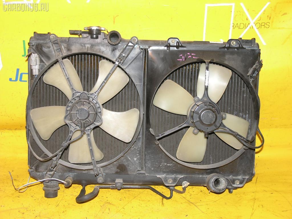 Радиатор ДВС TOYOTA SV32 3S-FE. Фото 5