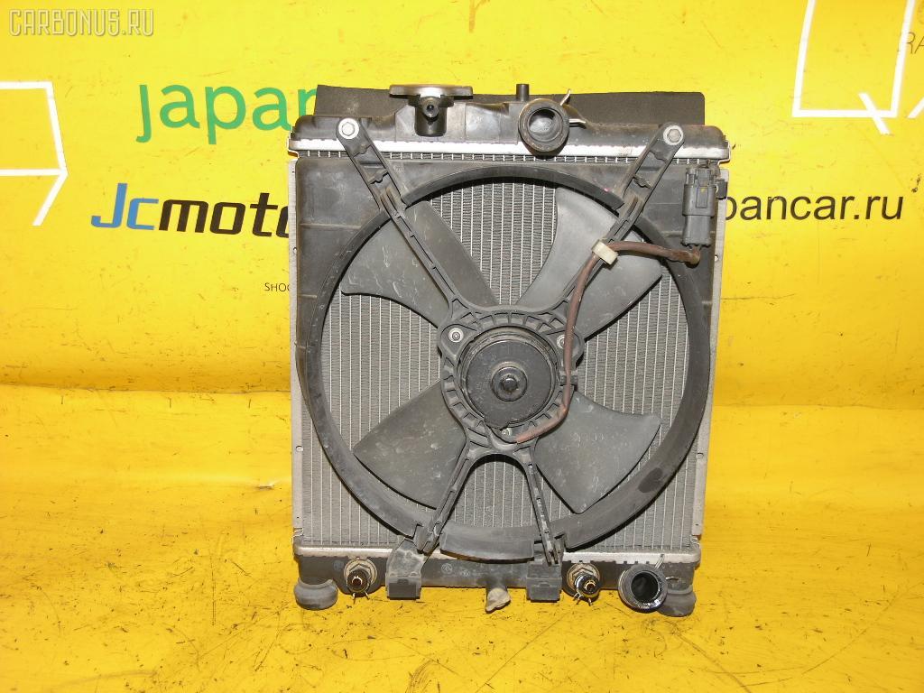 Радиатор ДВС HONDA PARTNER EY6 D13B. Фото 4