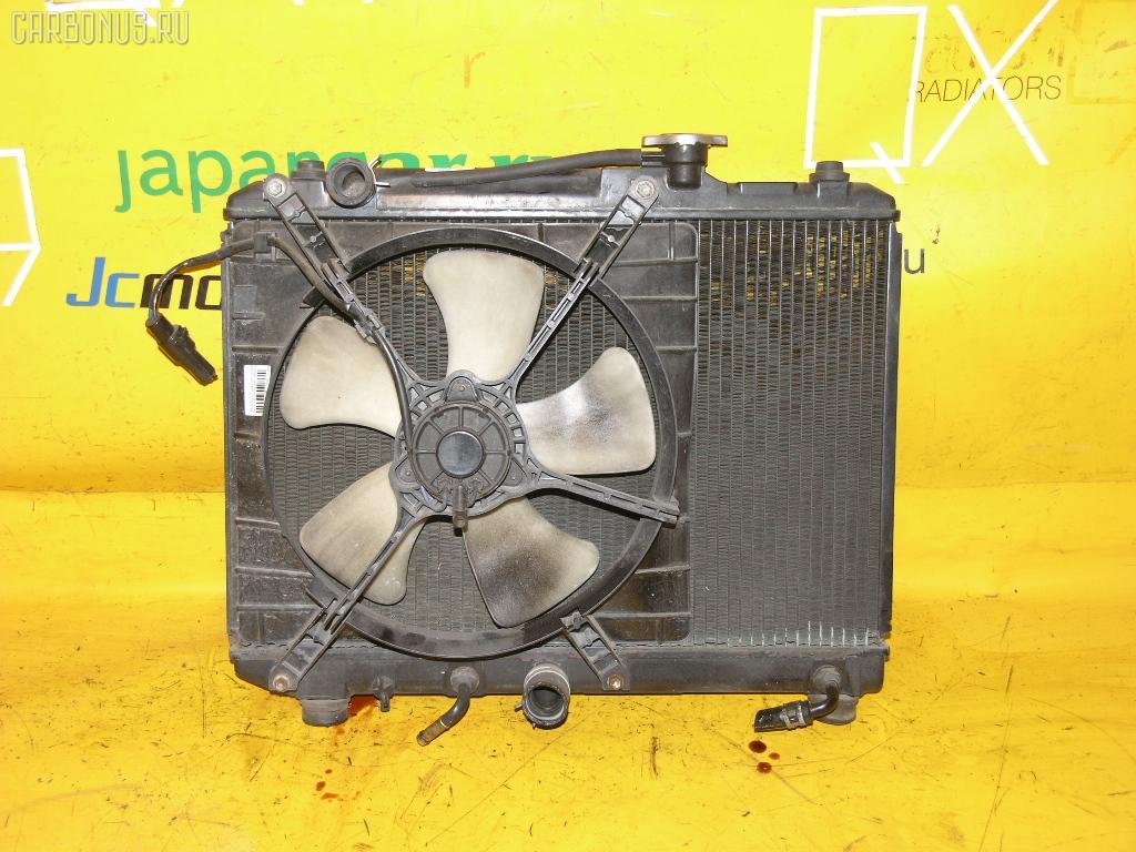 Радиатор ДВС SUZUKI CULTUS CRESCENT GC21S G15A. Фото 2