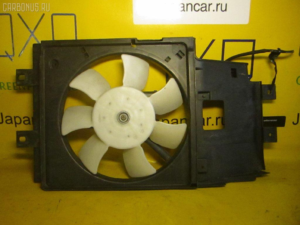 Вентилятор радиатора кондиционера NISSAN CUBE AZ10 CGA3DE. Фото 9