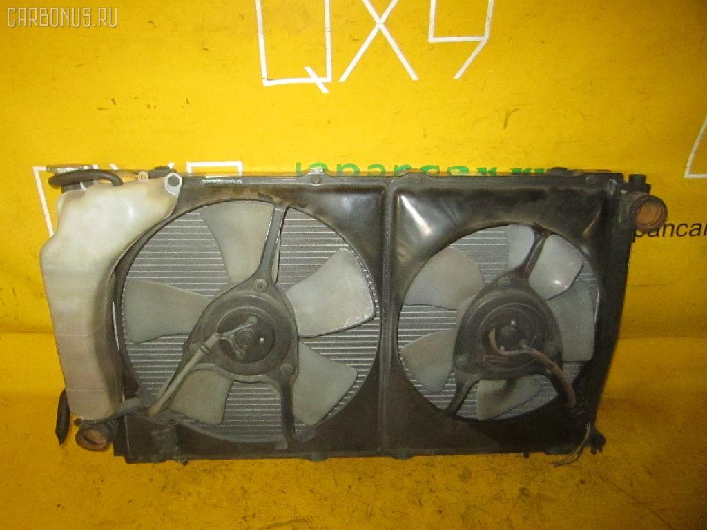 Радиатор ДВС SUBARU LEGACY GRAND WAGON BG9 EJ25. Фото 3