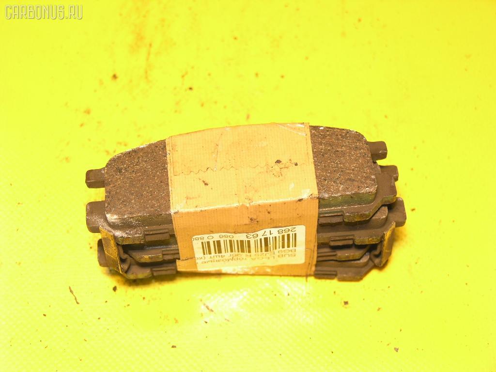 Тормозные колодки SUBARU LEGACY GRAND WAGON BG9 EJ25. Фото 3