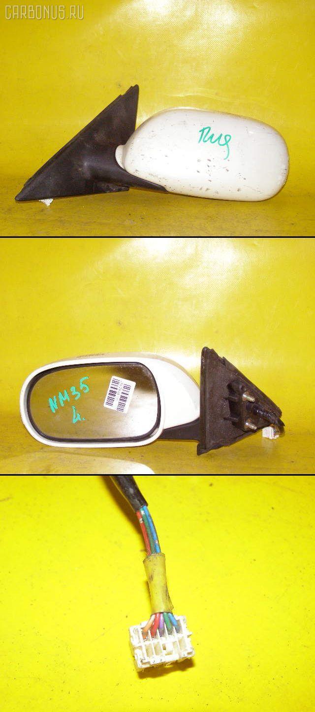 Зеркало двери боковой NISSAN STAGEA NM35. Фото 8