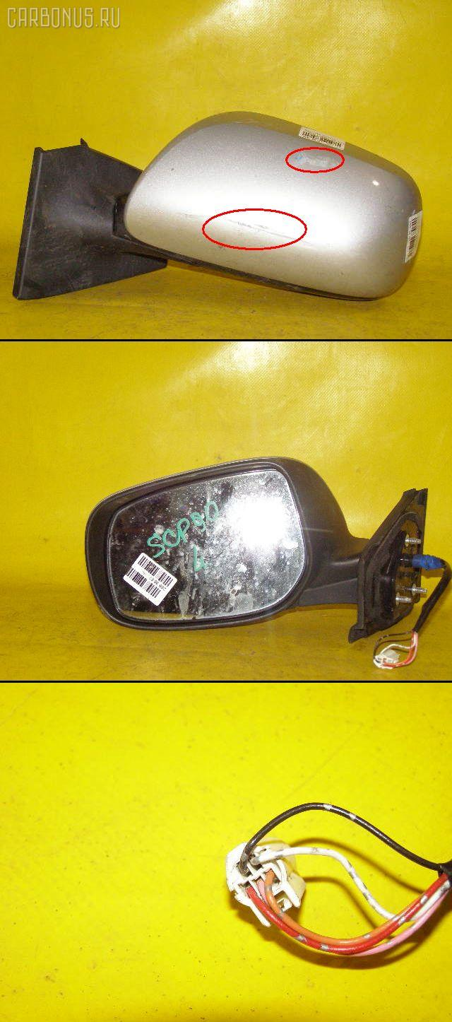 Зеркало двери боковой TOYOTA VITZ SCP90. Фото 8