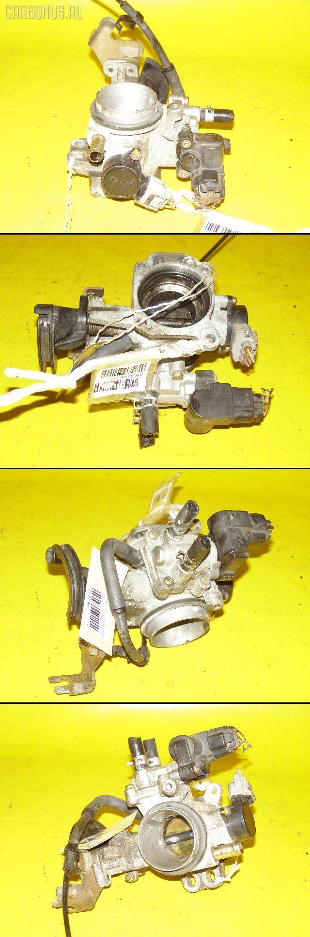 Дроссельная заслонка TOYOTA VITZ SCP10 1SZ-FE. Фото 2