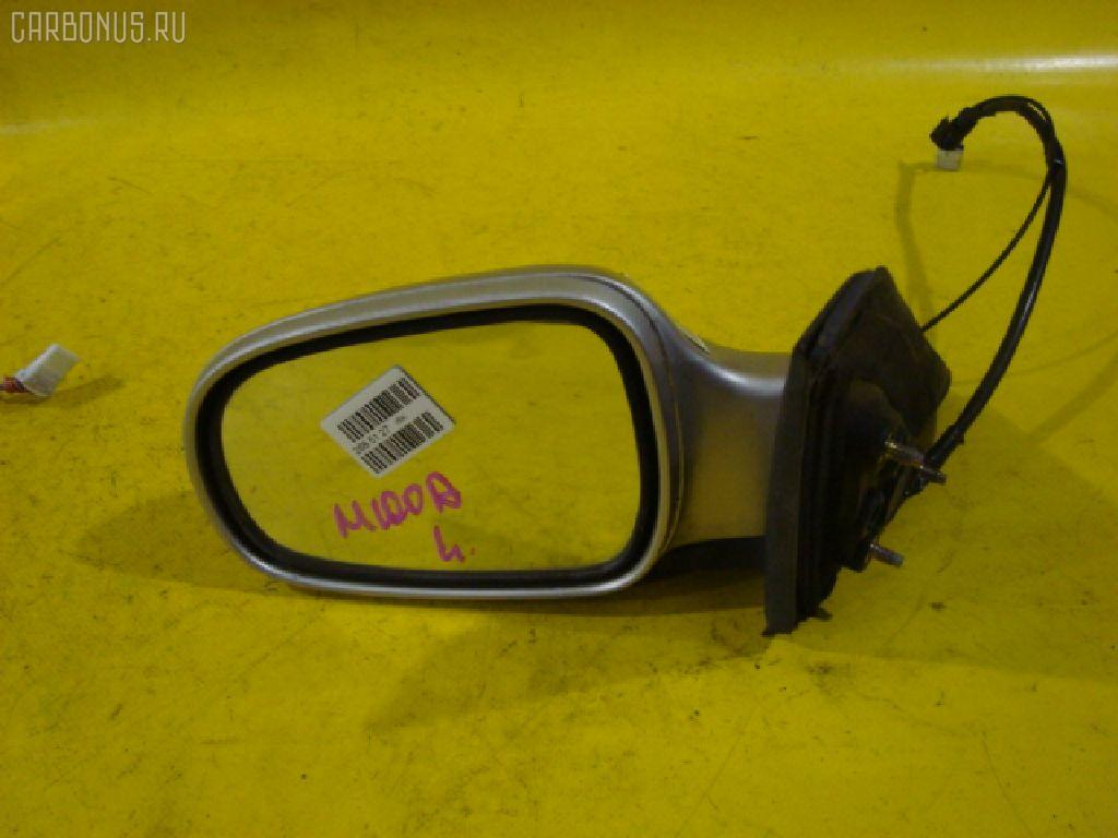 Зеркало двери боковой TOYOTA DUET M100A. Фото 11