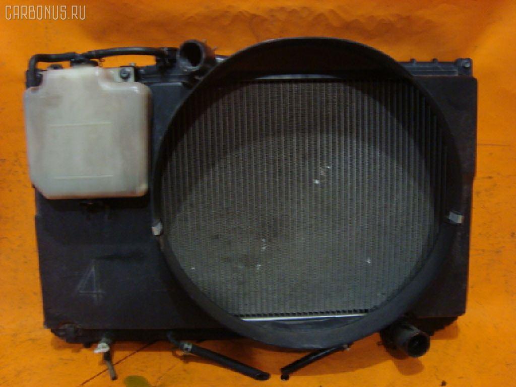 Радиатор ДВС TOYOTA CHASER GX90 1G-FE. Фото 8