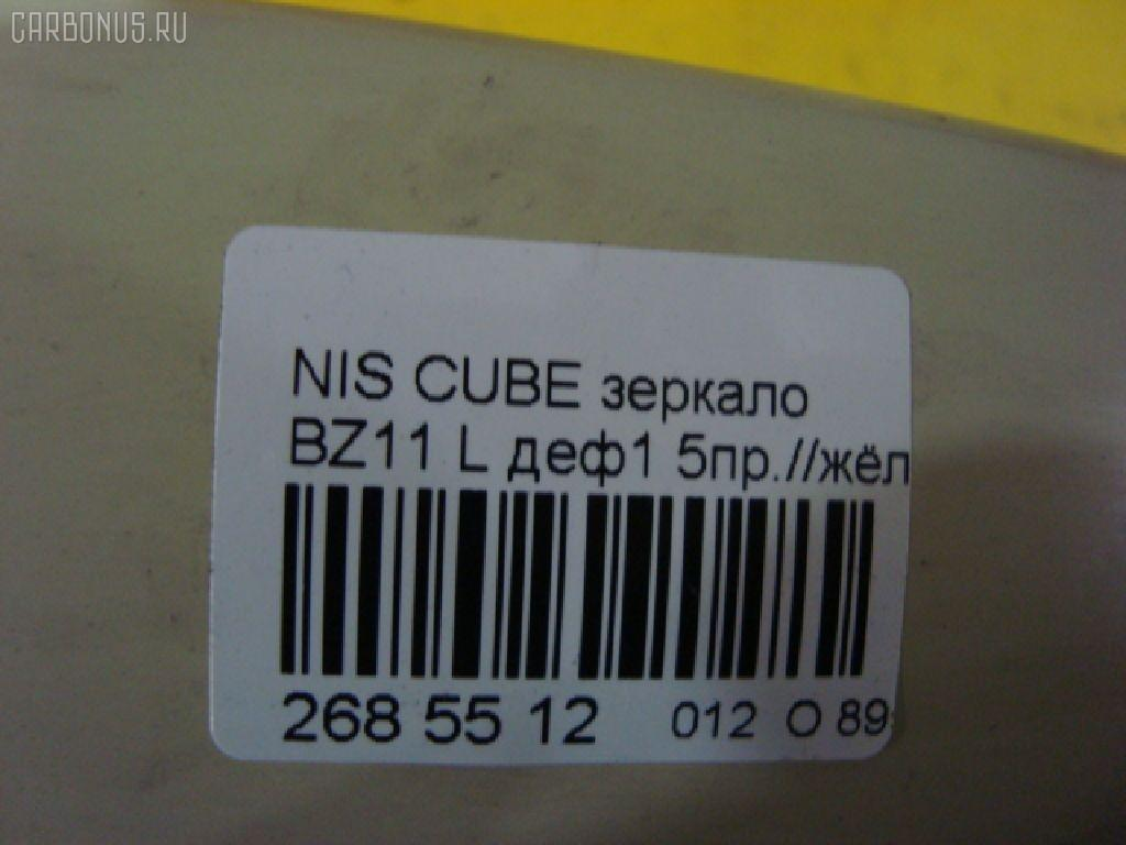 Зеркало двери боковой NISSAN CUBE BZ11 Фото 4