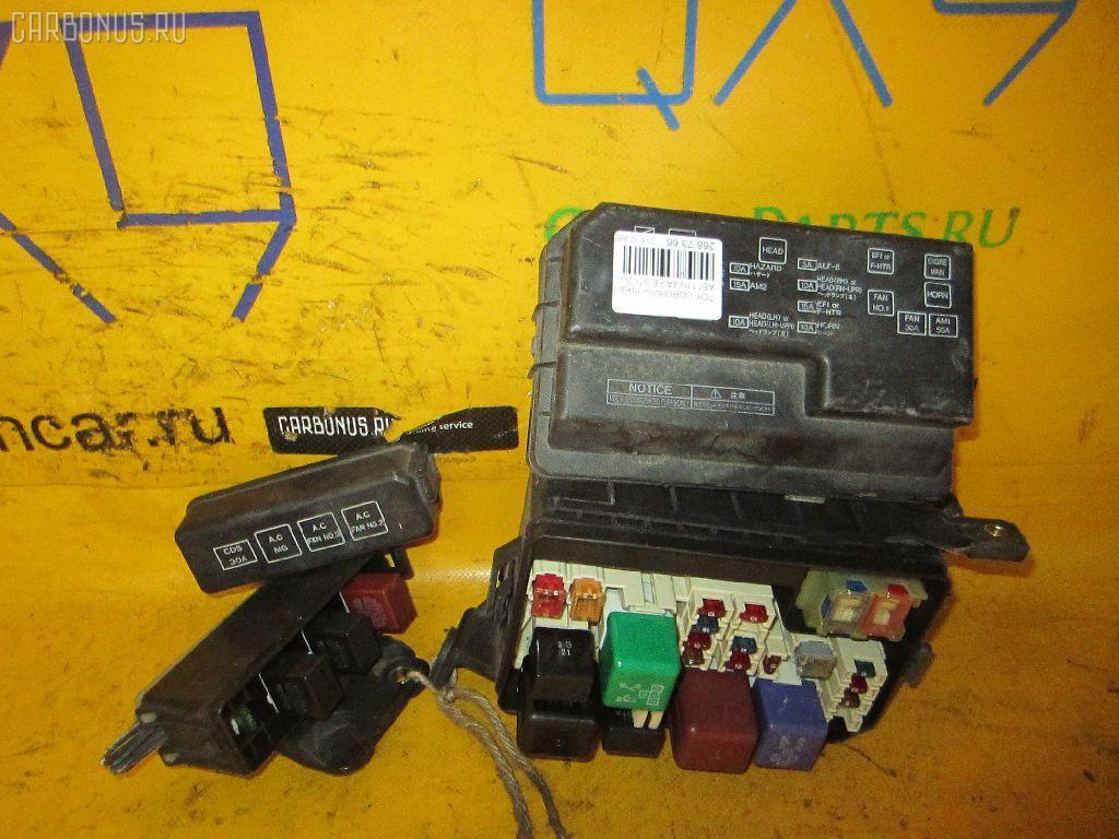 Блок предохранителей TOYOTA COROLLA SPACIO AE111N 4A-FE. Фото 1