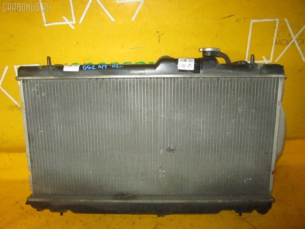 Радиатор ДВС SUBARU IMPREZA WAGON GG2 EJ15. Фото 9
