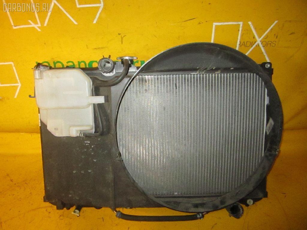 Радиатор ДВС TOYOTA CRESTA JZX100 1JZ-GE. Фото 6