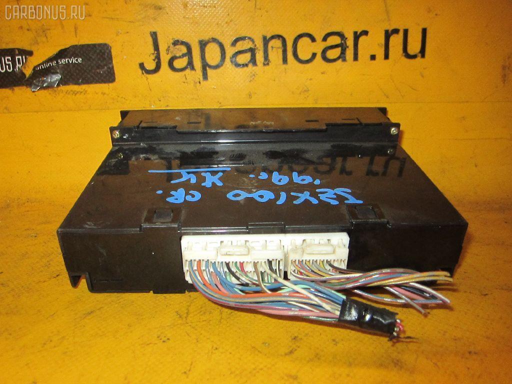 Блок управления климатконтроля TOYOTA CRESTA JZX100 1JZ-GE. Фото 7