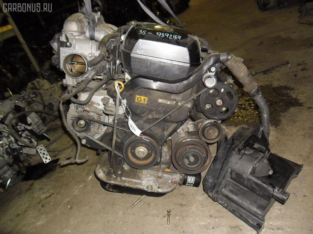 Двигатель TOYOTA ALTEZZA SXE10 3S-GE. Фото 9