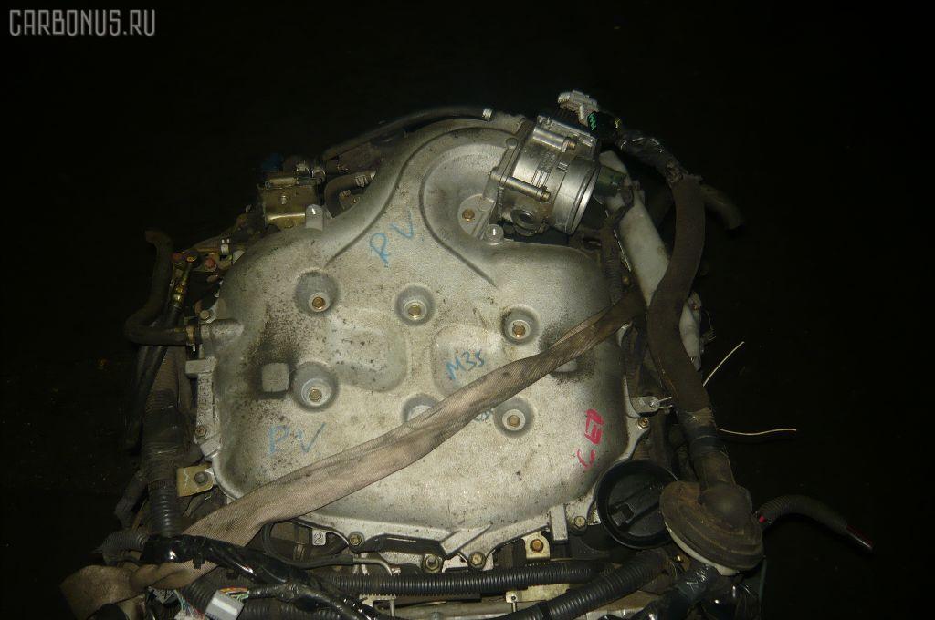 Двигатель NISSAN STAGEA M35 VQ25DD. Фото 3
