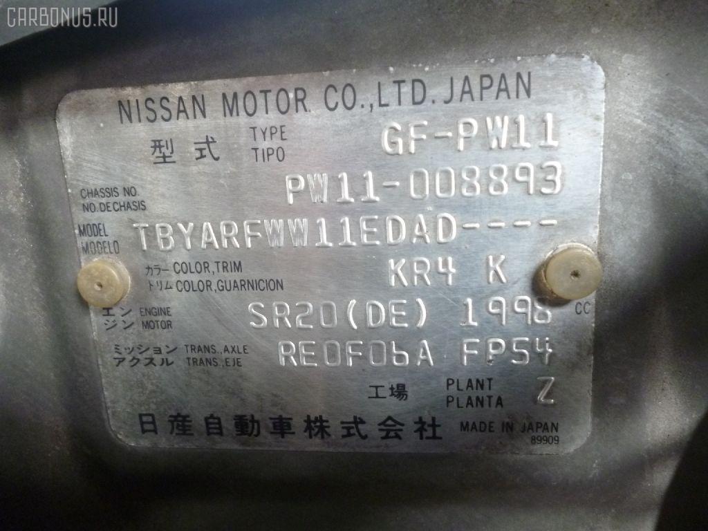 Тросик на коробку передач NISSAN AVENIR PW11 SR20DE Фото 2