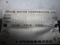 Блок управления климатконтроля Toyota Will vs ZZE128 2ZZ-GE Фото 2