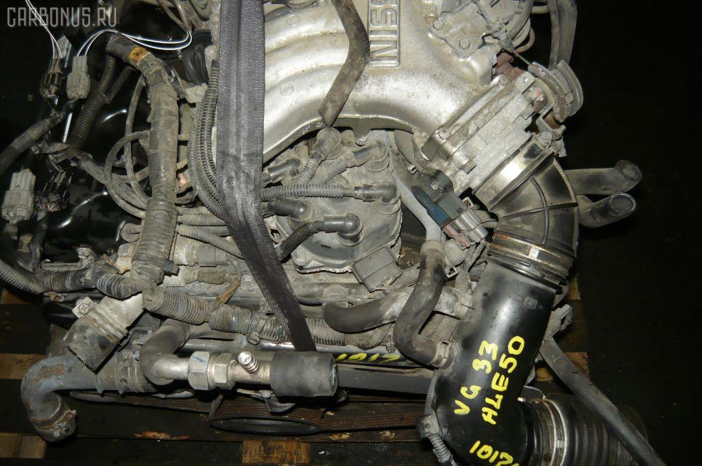 Двигатель NISSAN ELGRAND ALE50 VG33E. Фото 7