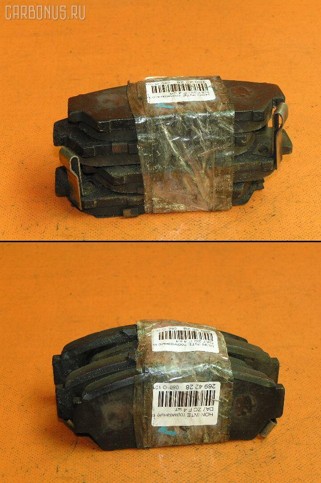 Тормозные колодки HONDA INTEGRA DA5. Фото 1