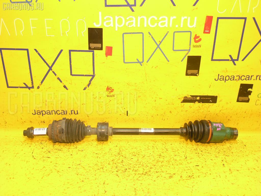 Привод SUZUKI SWIFT ZD21S M15A Фото 1